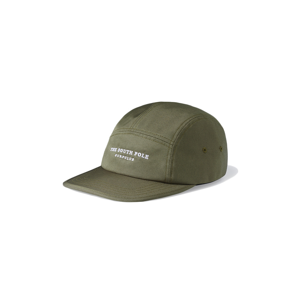 TSP Surf Club Camp Cap Dark Olive