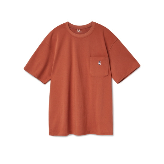 Paul Pocket T-shirts Sinoper Orange