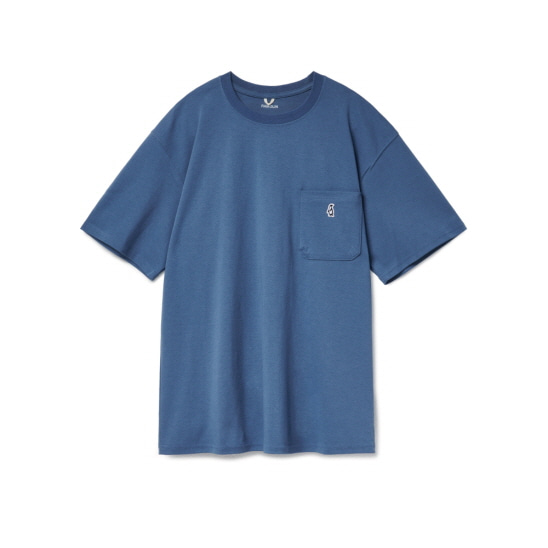 Paul Pocket T-shirts Deep Sea
