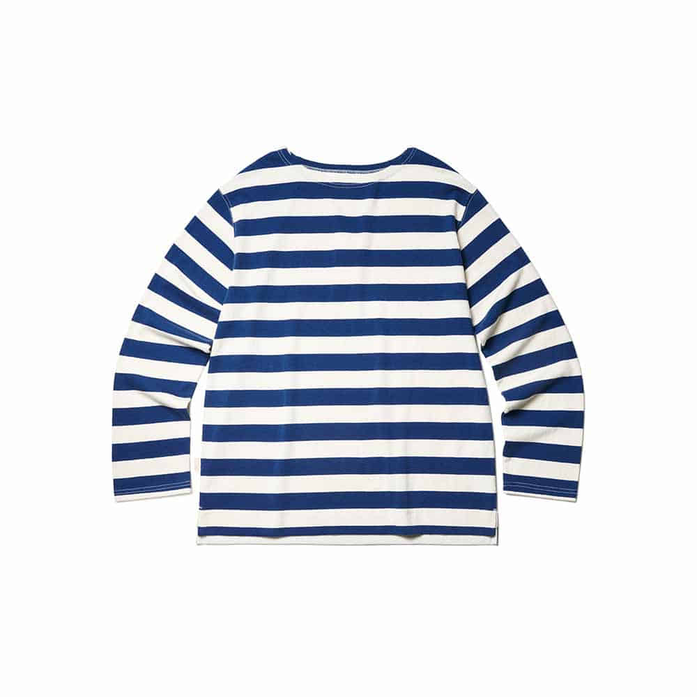 Marine Stripe Long Sleeve Marine Blue