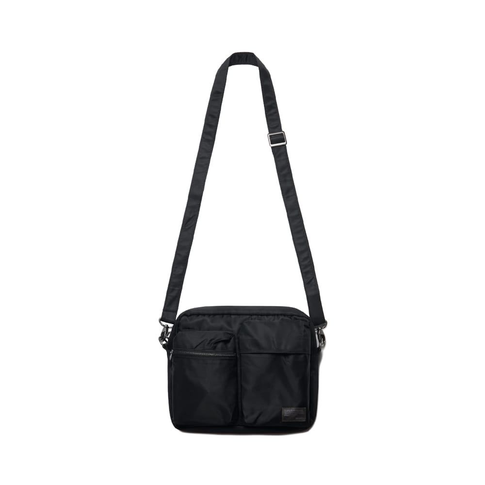 Nylon Small Travel Bag Black