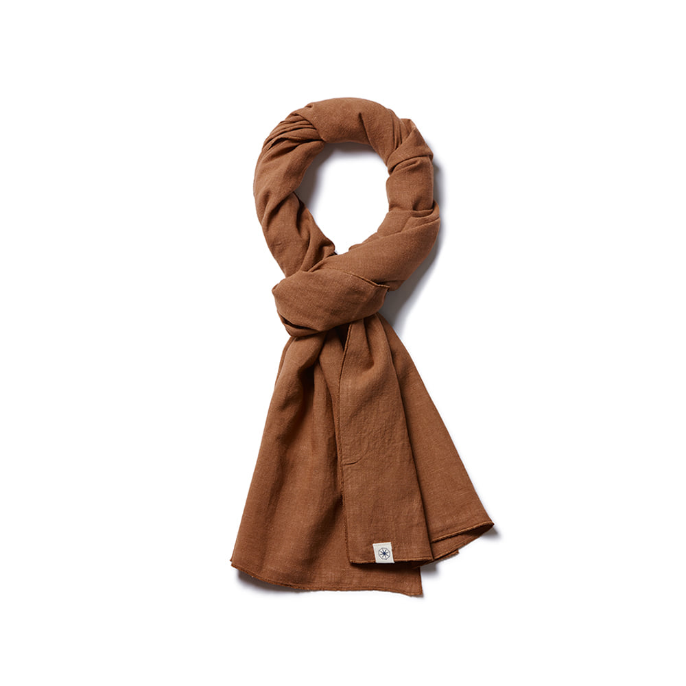 Light Short Stole 1-Way Sinoper Brown
