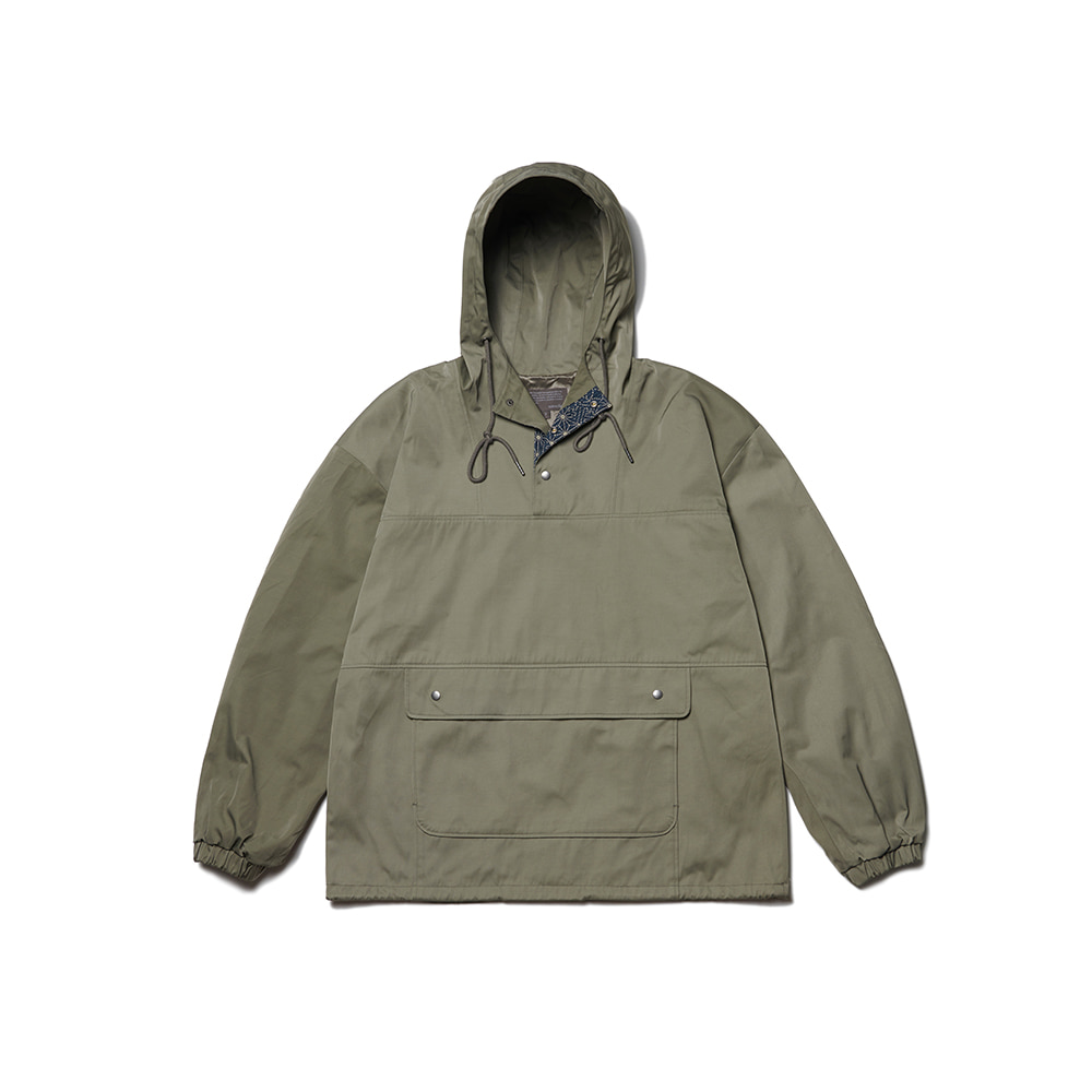 Color Scheme Anorak Parka Oil Green