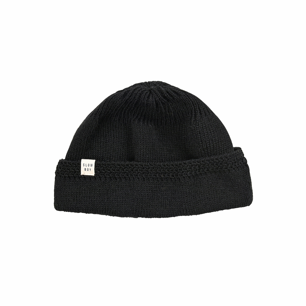 Ramolin x Beslow Scotch Wool Watchcap Black