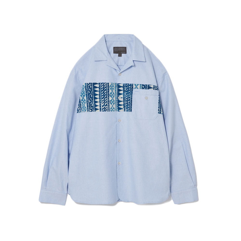 Color Scheme Oxford Shirts Chest Sky Blue
