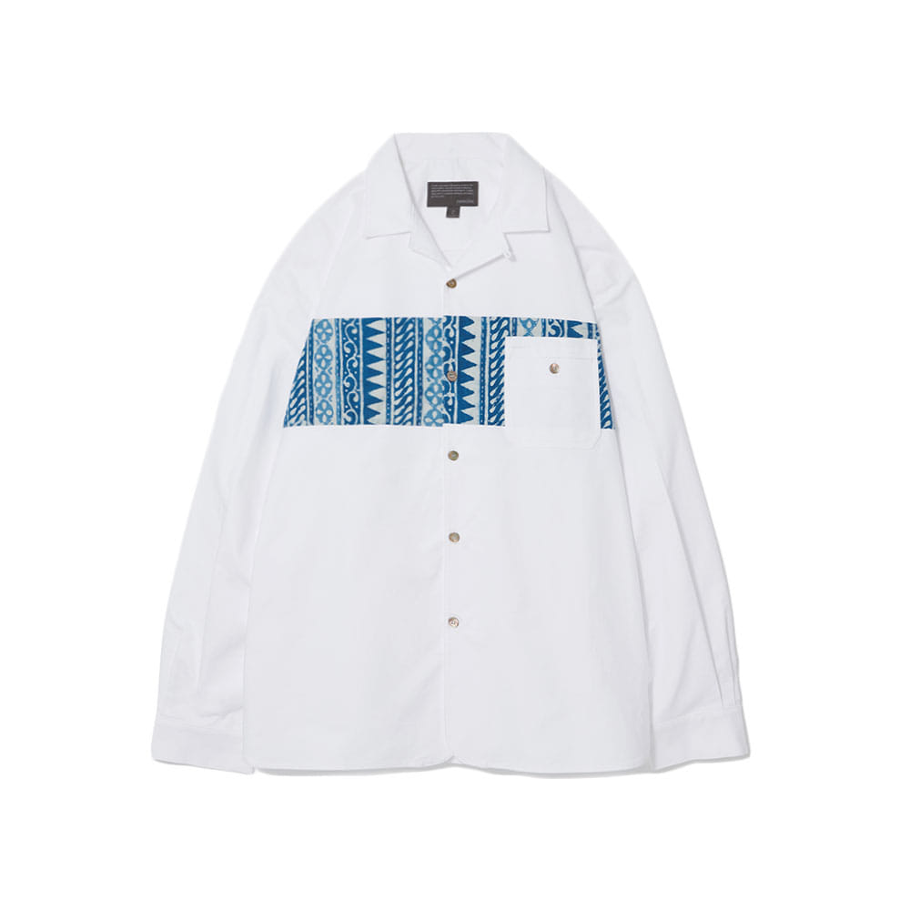 Color Scheme Oxford Shirts Chest White