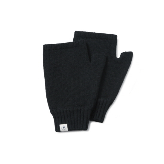 RML 8 Finger Free Gloves Black