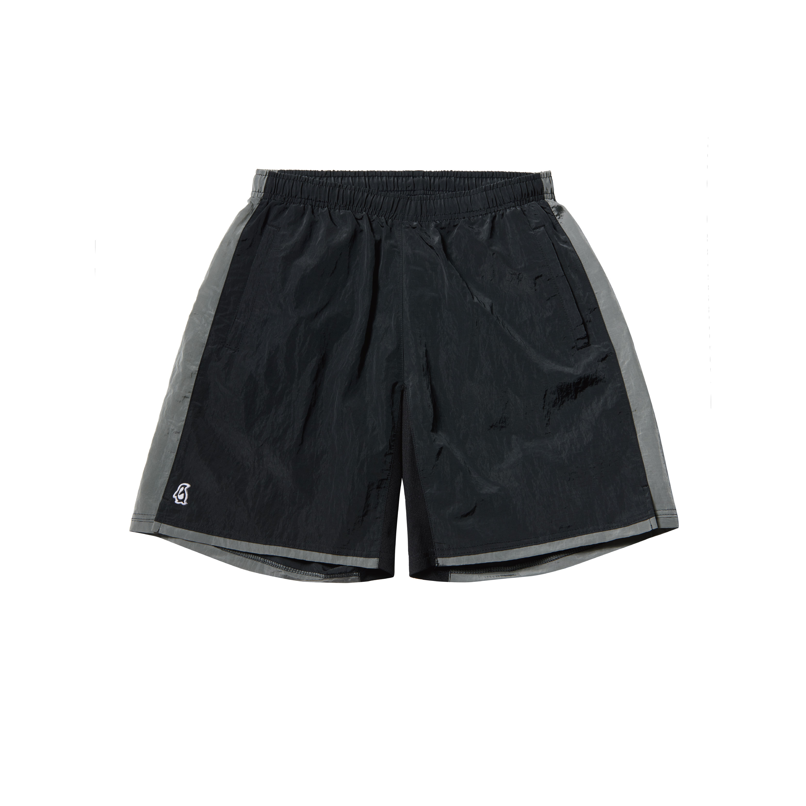 Paul Garments Dying Nylon Shorts Black