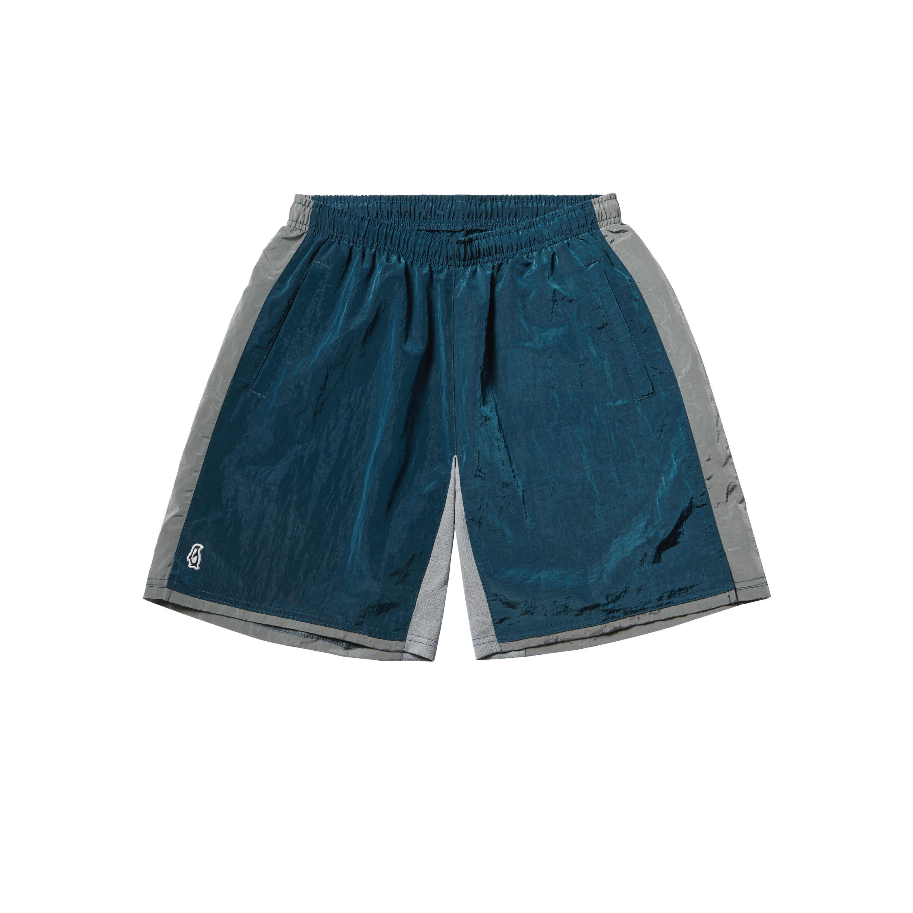 Paul Garments Dying Nylon Shorts Deep Sea