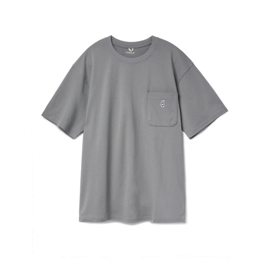 [6월 12일 예약배송] Paul Pocket T-shirts Stone Gray