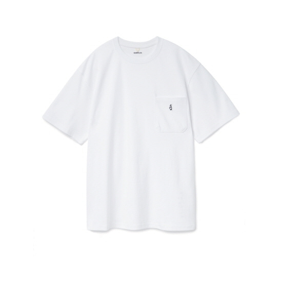 [5월 29일 예약배송] Paul Pocket T-shirts White