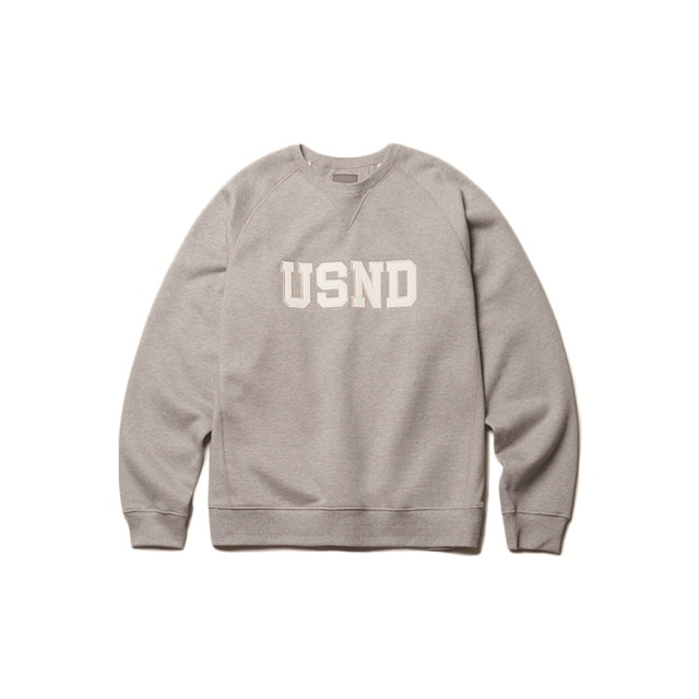 USND Heavy Raising Sweatshirts Gray