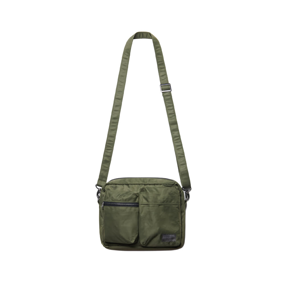 Nylon Small Travel Bag Dark Olive