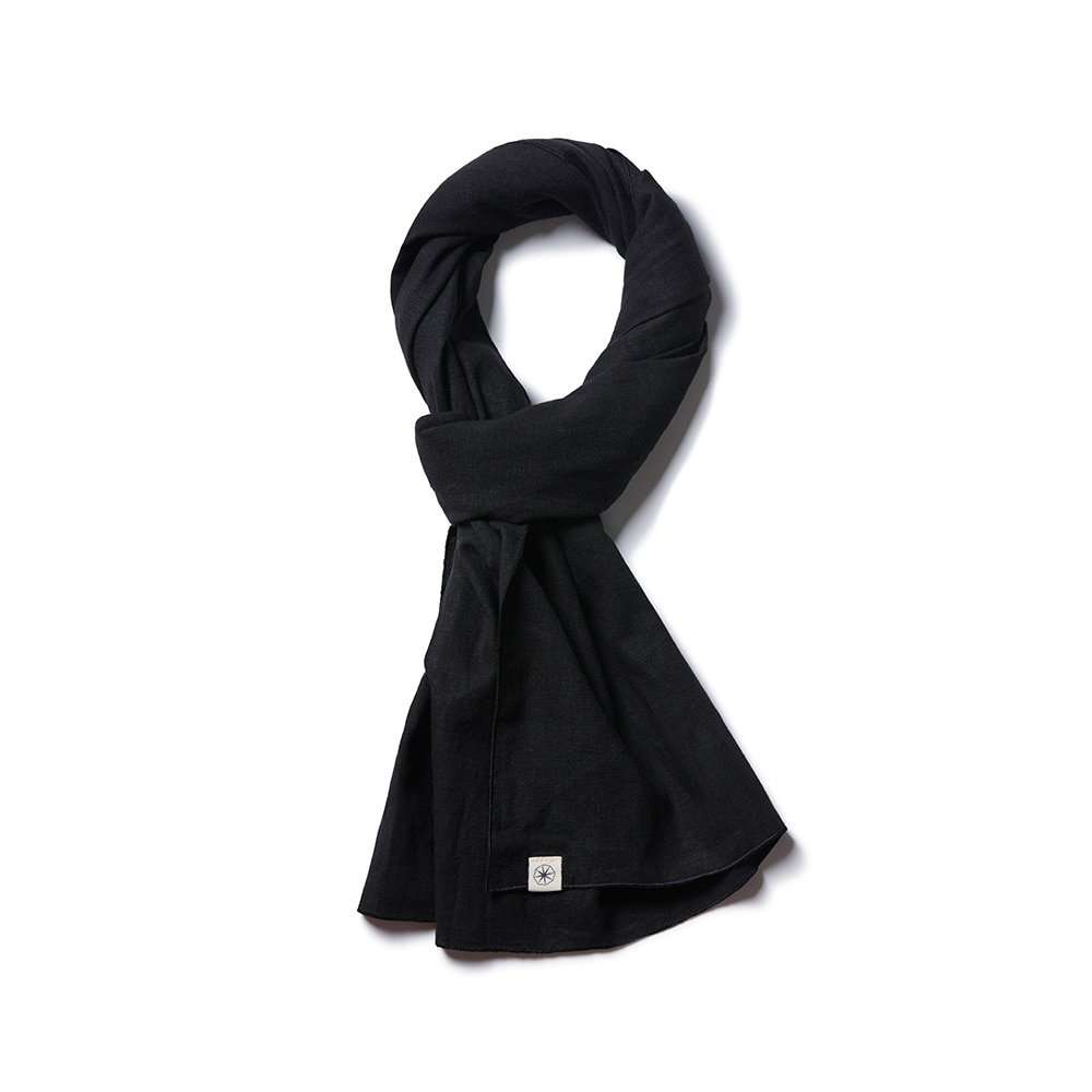 Light Short Stole 1-Way True Black