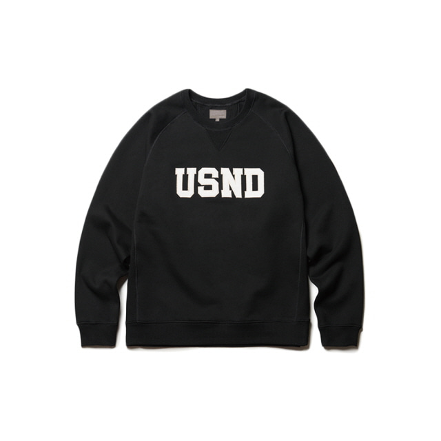 USND Heavy Raising Sweatshirts Black