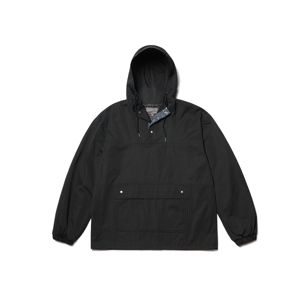 Color Scheme Anorak Parka Black