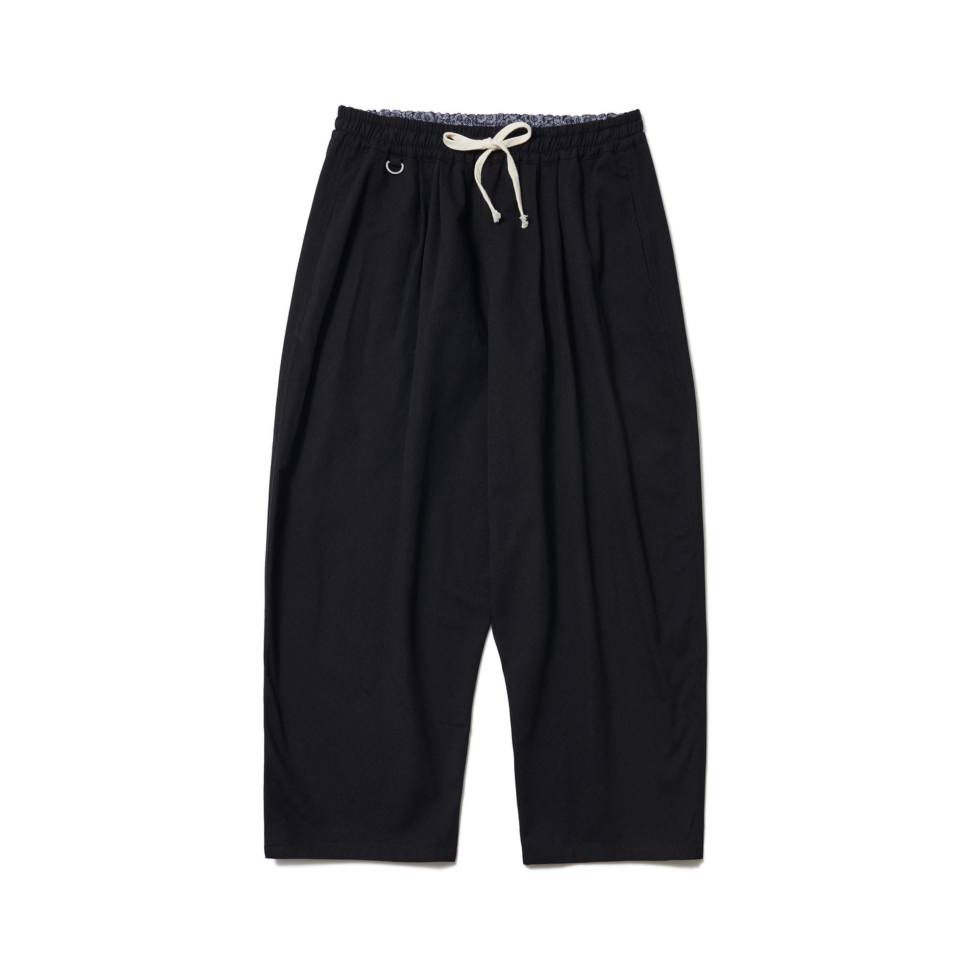 [Restock] Chino Long Capris Pants Black
