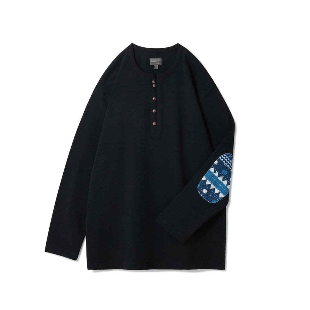 [Renewal] Loop Button Long Sleeve Black V2 [5월 25일 예약배송]