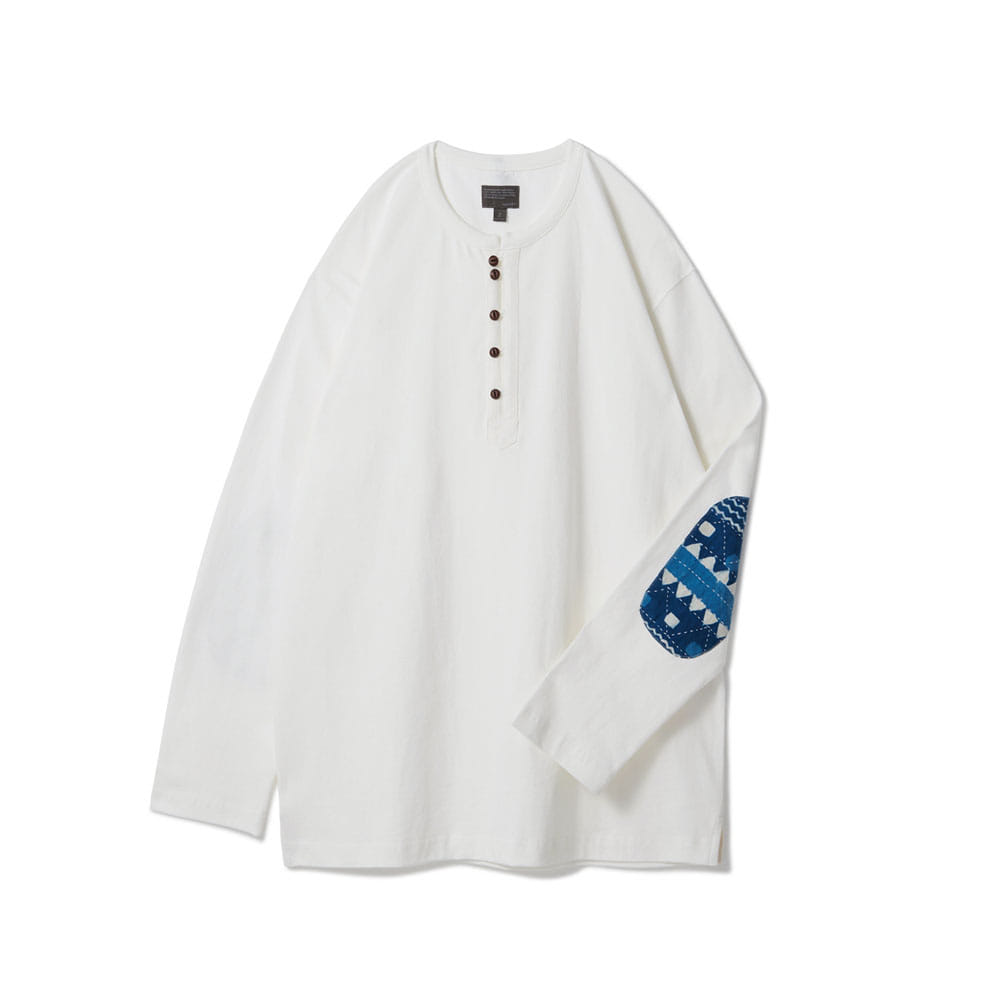 [Renewal] Loop Button Long Sleeve White V2 [5월 25일 예약배송]